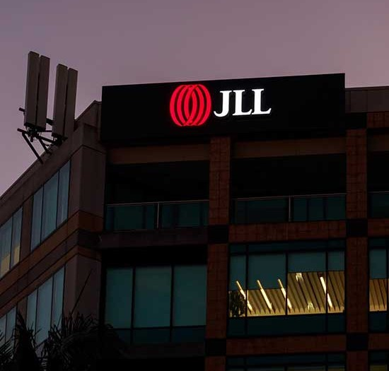 JLL Sky Signage