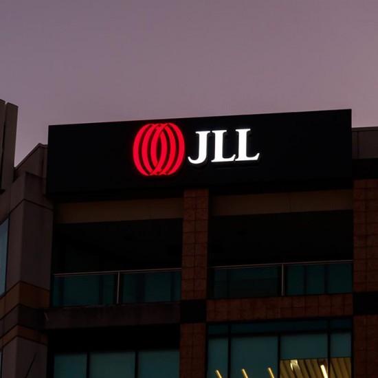 JLL Building ID Signage
