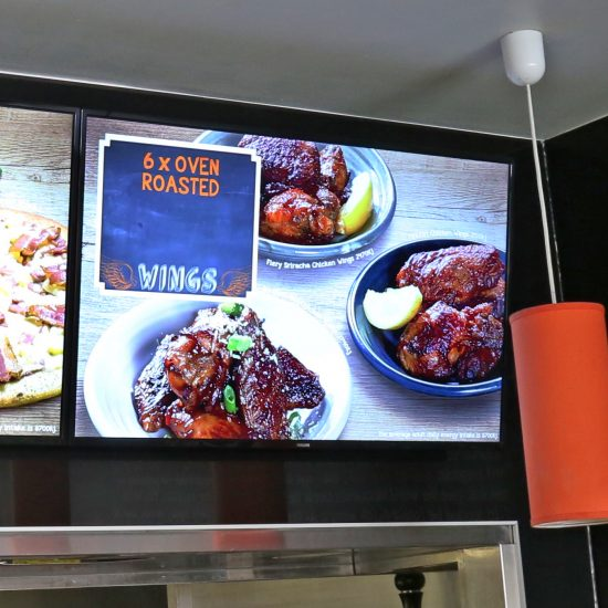 Pizza Capers Digital Menu Boards