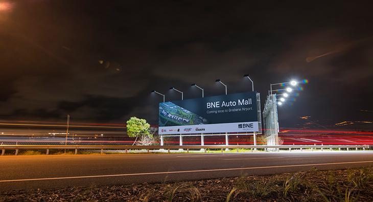 Brisbane Airport Billboard