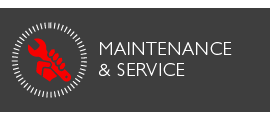 Maintenance and service
