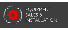 Equipment sales and installation