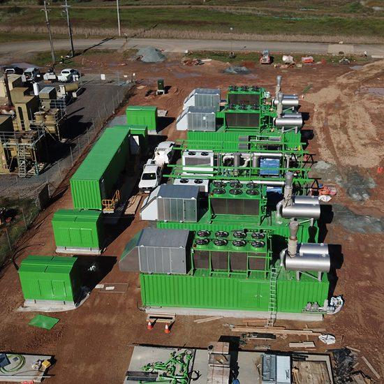 LGI Canberra Landfill Gas to Energy Plant